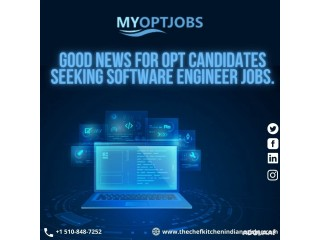 OPT software engineer jobs are waiting for at MY OPT JOBS.