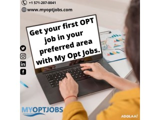 Are you in the end days of your OPT job search program?