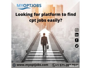 Looking for platform to find cpt jobs easily?