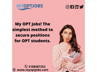My opt jobs