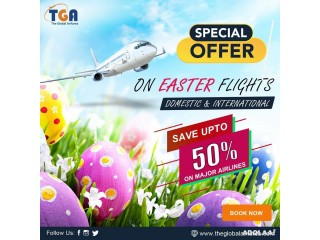 Easter Weekend flight Deals