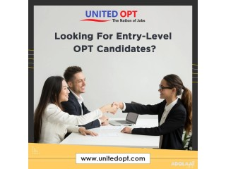 Looking for a Verified Database of candidates for OPT jobs?