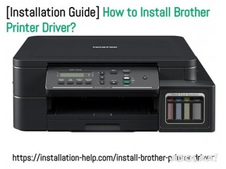 [Installation Guide] How to Install Brother Printer Driver?