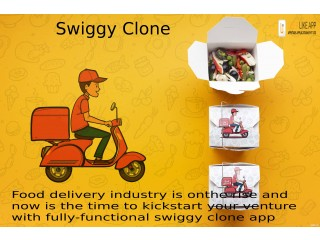 Enhance your food business visibility with the Swiggy like app