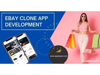 Open your own e-commerce app like eBay with reliable features