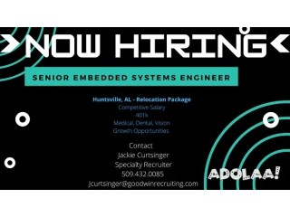 Senior Embedded Systems Engineer