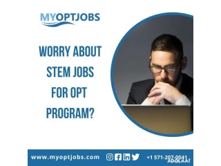 Worry about STEM jobs for OPT program?