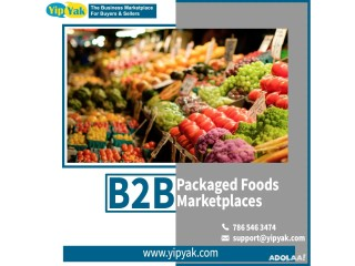 B2B Packaged Foods Marketplaces