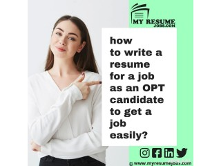 Searching for Professional Resume for applying for OPT/CPT Jobs! Visit My Resume Jobs.