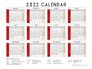Live your life systematically with the help of 2022 Calendar Printable