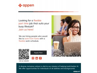 Want to earn extra income while staying on your home? Register with Appen! - USA