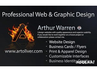 Arthur Warren Professional Graphic Designer