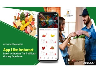 Establish a grocery delivery service business with the Instacart clone app