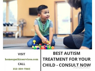 Best Autism Treatment for Your Child - Consult Now