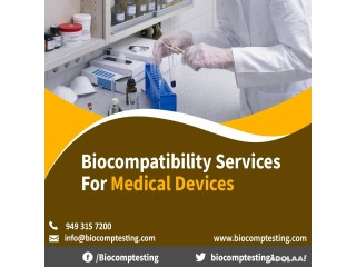 Biocompatibility Services For Medical Devices