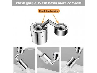 Universal 720° Rotatable Faucet Sprayer Head with Durable Copper