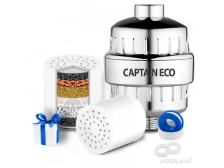 Protect Your Hair, Skin and Nails with Captain Eco multi Stage Shower Filter