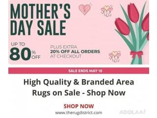 High Quality & Branded Area Rugs on Sale