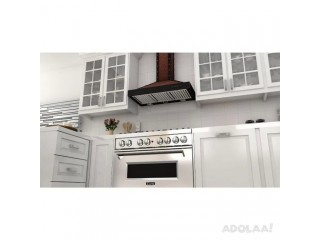 Buy Wall Mounted Range Hood Online: Kitchen Air Flow Offers Highest Quality Products