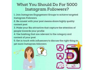 How Can I Buy 5000 Instagram Followers?