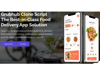 Favour Your Food Delivery Business Growth Across Borders With Grubhub Clone Script!