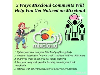 Where to Buy Mixcloud Comments?