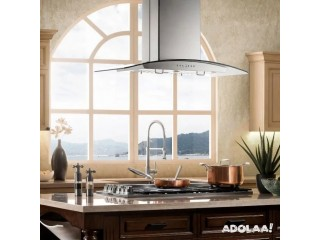 Aesthetically Designed & Durable Range hoods by Kitchen Air Flow: Buy Island Mount Range Hoods Online