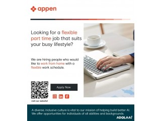 Data Collector - Work from Home - Part-Time