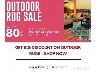 Get Big Discount on Outdoor Rugs - Shop Now