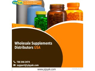 Wholesale Supplements Distributors USA