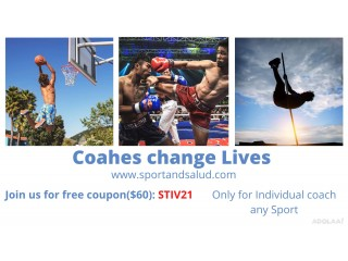 ARE YOU A SPORT COACH ? JOIN US FOR FREE WITH THIS CODE: STIV21