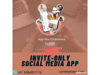 Developing audio based social media app like Clubhouse for your chatrooms