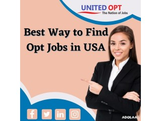 Boost Up Your Self And Get Your Opt Jobs In USA