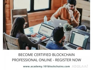 Become Certified Blockchain Professional Online - Register Now