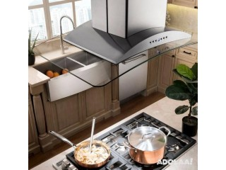Find Stainless Steel & Glass Island Mount Range Hoods At Attractive Rates Here   Kitchen Air Flow