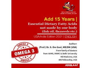 Essential Dietary Fatty Acids not made by our body (fish oil, flaxseeds etc.)