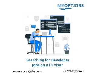Searching for Developer Jobs on a F1 visa?