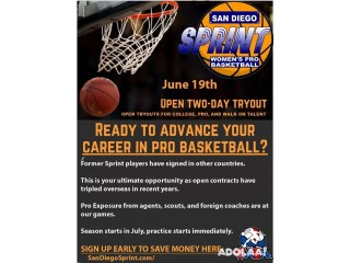 Launch your professional basketball career in San Diego America's Finest City