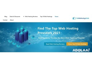 Find The Top Web Hosting Providers 2021