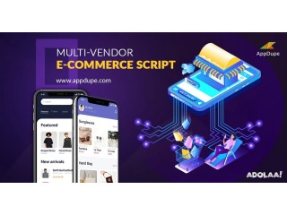 Sell millions of products in a flash by initiating Multi vendor Ecommerce Script Development