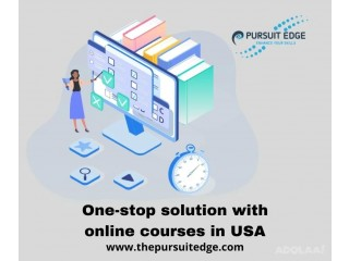 One-stop solution with online courses in USA