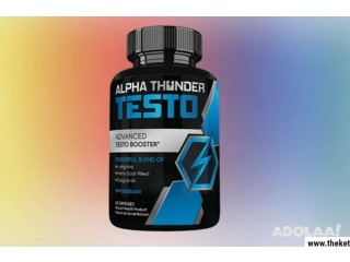 What Ingredients Are Used In Alpha Thunder Testo?