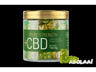 Which Ingredients Are Used In Pure Strength CBD Gummies?