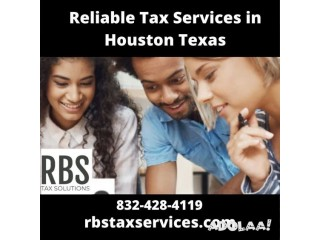Top Tax Preparation Services Houston by RBS Tax Services