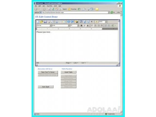 Create, Load and Modify rich text documents with Rich Text Edit Control