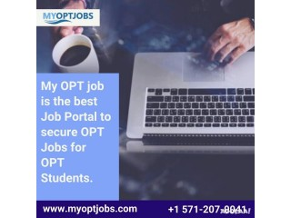 My OPT job is the best Job Portal to secure OPT Jobs for OPT Students.