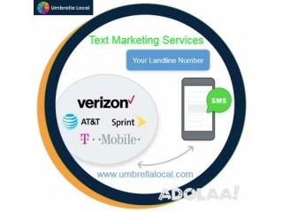 New Attractive Text Message Marketing Services with Umbrella Local