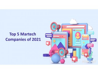 Top Martech Companies of 2021 for your Martech Stack