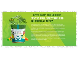 What Are The Ingredients In Green Happy CBD Gummies?