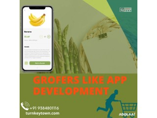 Develop your online grocery store with Grofers clone app